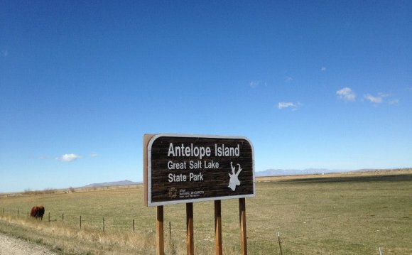 Antelope Island is located