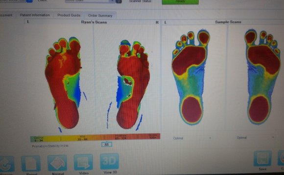 New Foot Scanner Results