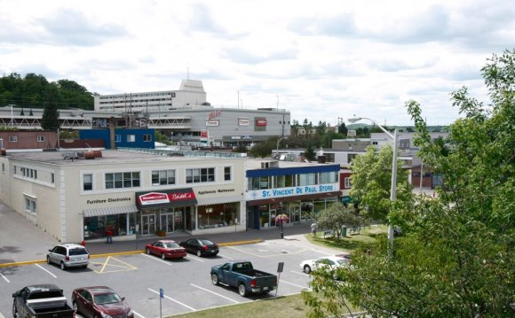 Elliot Lake, Mall roof