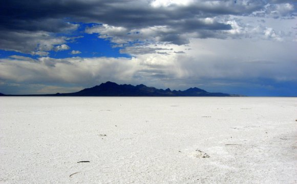 Great salt lake desert by