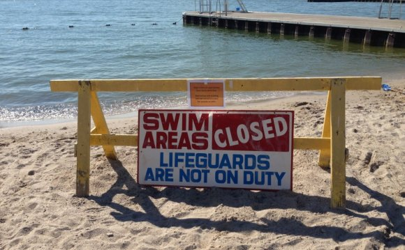 Should swimming be banned when