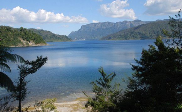 View of Lake Waikaremoana