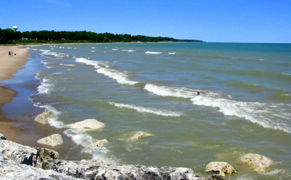 Lake huron, islands, from ms