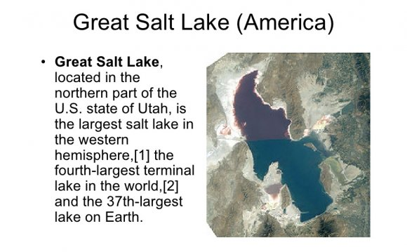 Great Salt Lake (America)•
