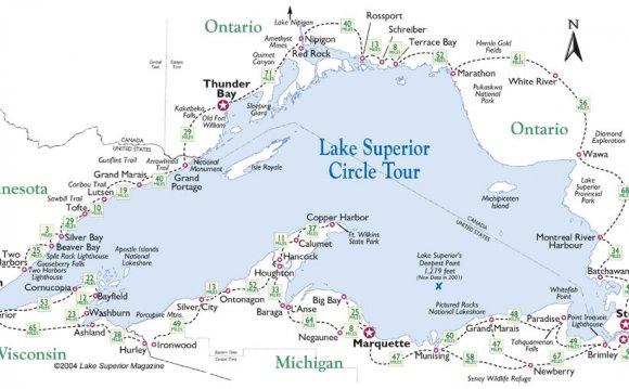 Travel Lake Superior Circle
