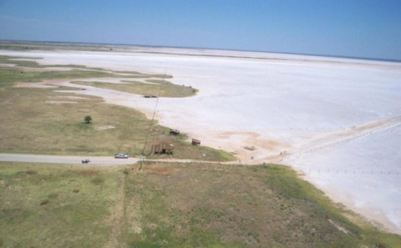 Great Salt Plains Lake is