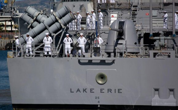 USS Lake Erie CO Relieved of