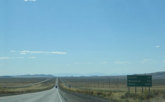 Knolls (Exit 41) lies 12 miles