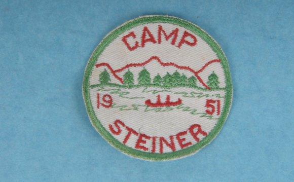 Vintage 1951 Camp Steiner