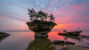 About Turnip Rock in Port Austin