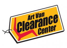 Art Van Clearance Center store front