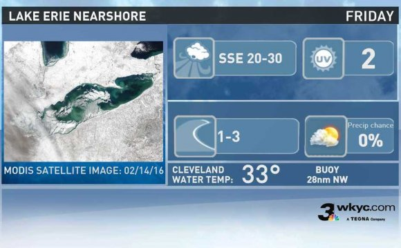 Lake Erie near shore Forecast