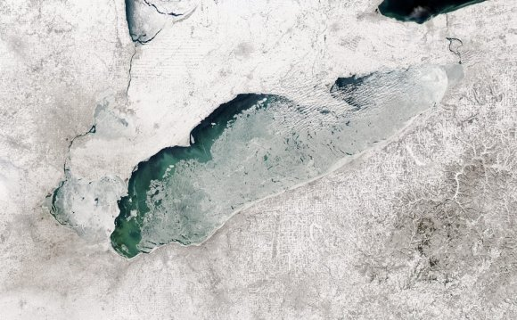Lake Erie Ice coverage