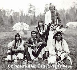 Chippewa Men Bad River