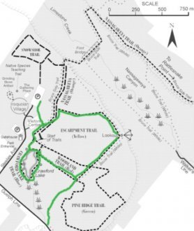 Crawford Lake Map