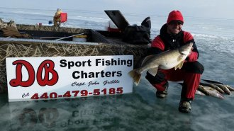 ** DB Sport Fishing Charters does not start scheduling for Ice Fishing until after January 1st **