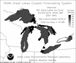 Great Lakes Ice Cover GLERL