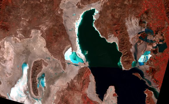 Where is Great Salt Lake?