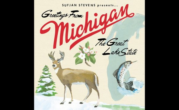 Greetings From Michigan The Great Lakes State