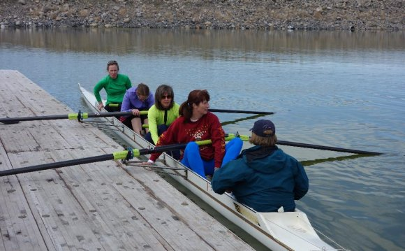 Great Salt Lake rowing