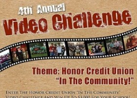 Honor Credit Union Awarding Cash for Creativity Through 4th Annual Video Challenge
