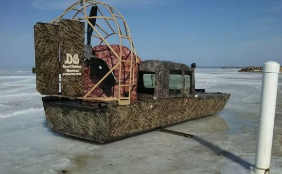 Lake Erie Ice fishing Charters