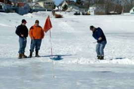 Ice Golf Scramble 1