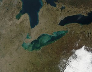 Lake Erie, photo by NASA Goddard Space Flight Center
