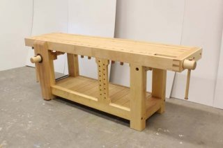 Lake Erie Toolworks, Roubo Workbench, Leg Vise, Wagon Vise