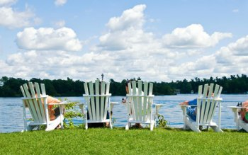 Land o' Lakes waterfront cottage rentals