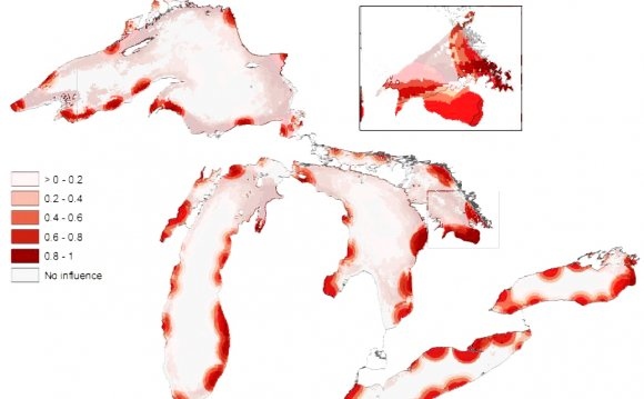 Water pollution Great Lakes