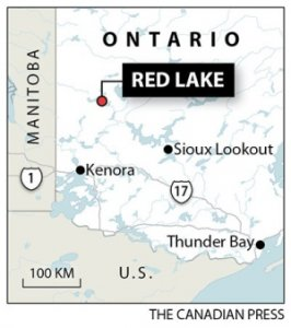 Red Lake map