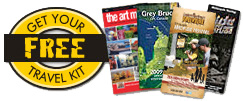 Request a Bruce County Travel Kit