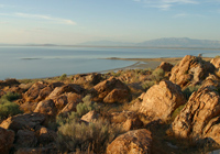 Rocks on Antelope Island
