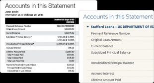 Screen capture of where to find specific account details on your billing statement.