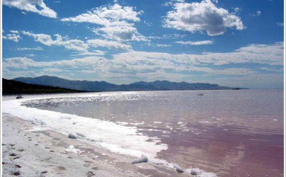 Salinity of Great Salt Lake