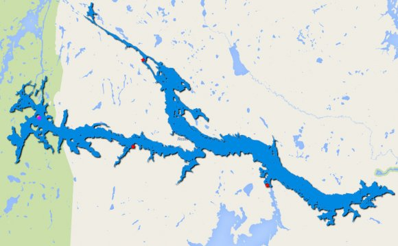 Largest Lakes in Ontario