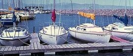 The marina about 1978.