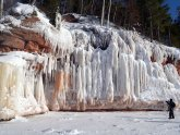 Ice caves Lake Superior