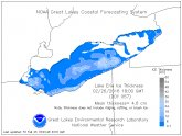 Lake Erie Ice Thickness