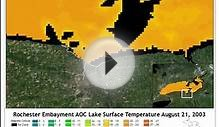 2003 Lake Ontario Lake Surface Temperature