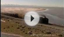 844 & 3985 crossing the Great Salt Lake - filmed from the air!