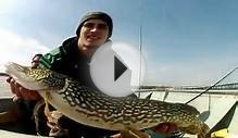 2012 Chunky Spring Northern Pike on Lake Ontario