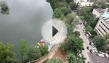Birds Eye View of Kacharali Lake in Thane City Video