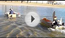 Cardboard Boat Race #3 with Lake View Credit Union in