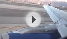 Delta A320 Sunset Taxi and Takeoff Salt Lake City Great