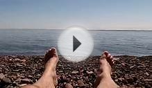 Feet of Lake Superior (GoPro)