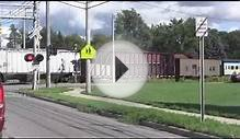 Great Lakes Central Freight Train in Owosso, MI 8/17/12