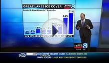 Great Lakes ice cover more than twice normal