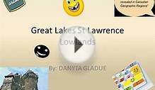 Great Lakes St Lawrence Lowlands Danby Danyta